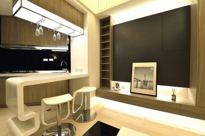 二居 简约 其他图片来自四川岚庭装饰工程有限公司在开敞空间的66平米微型公寓的分享