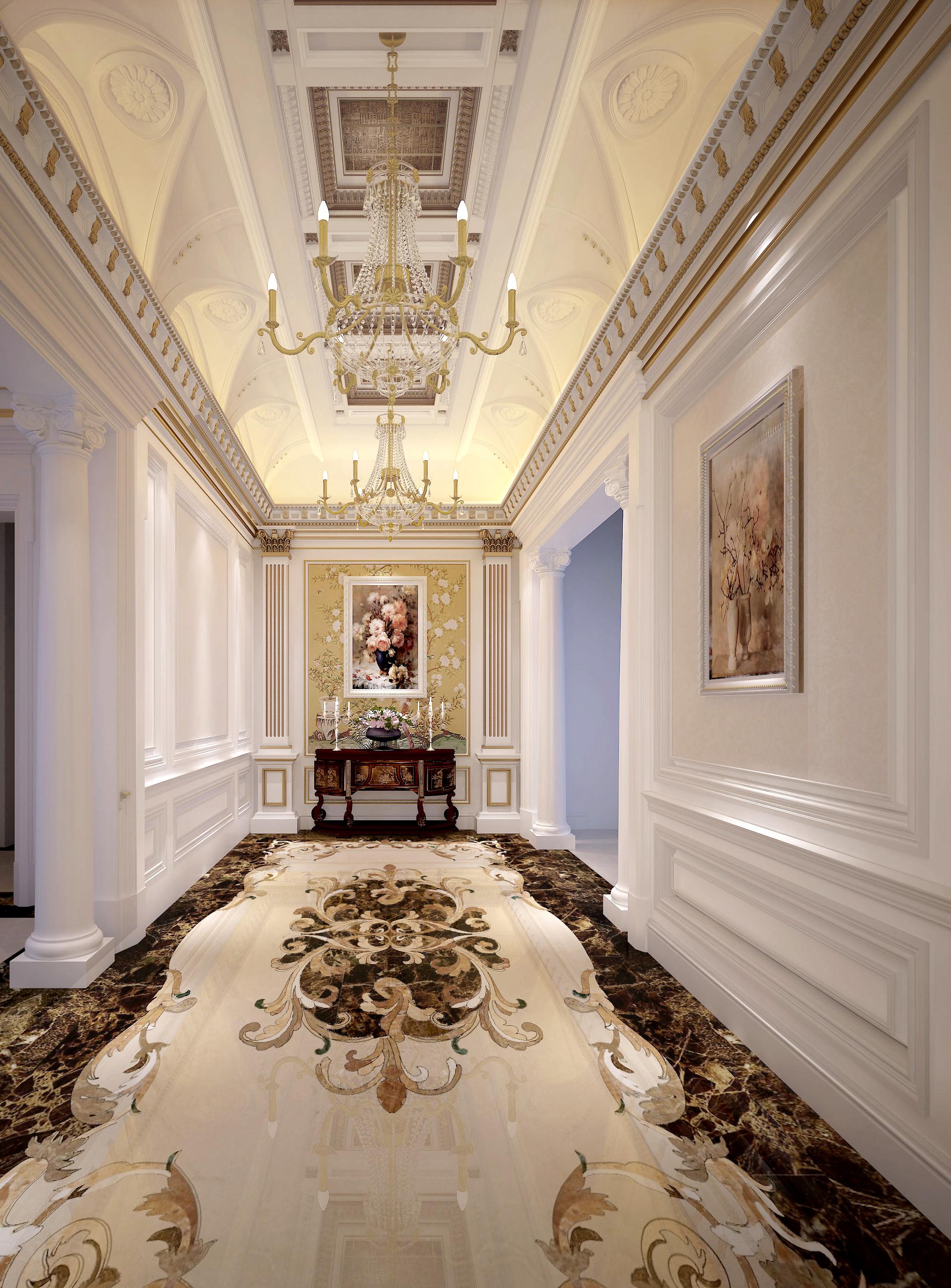 别墅 远洋 白领 其他图片来自别墅装修尚层装饰王丽在浪漫洛可可风格的分享