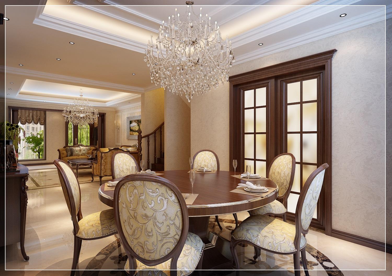 美式 小资 复式 餐厅图片来自西安业之峰装饰在龙湖香醍——美式风格的分享