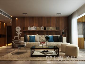 昌建誉峰三居室北欧风格装修案例