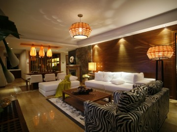 蓝岸丽舍东南亚风格设计