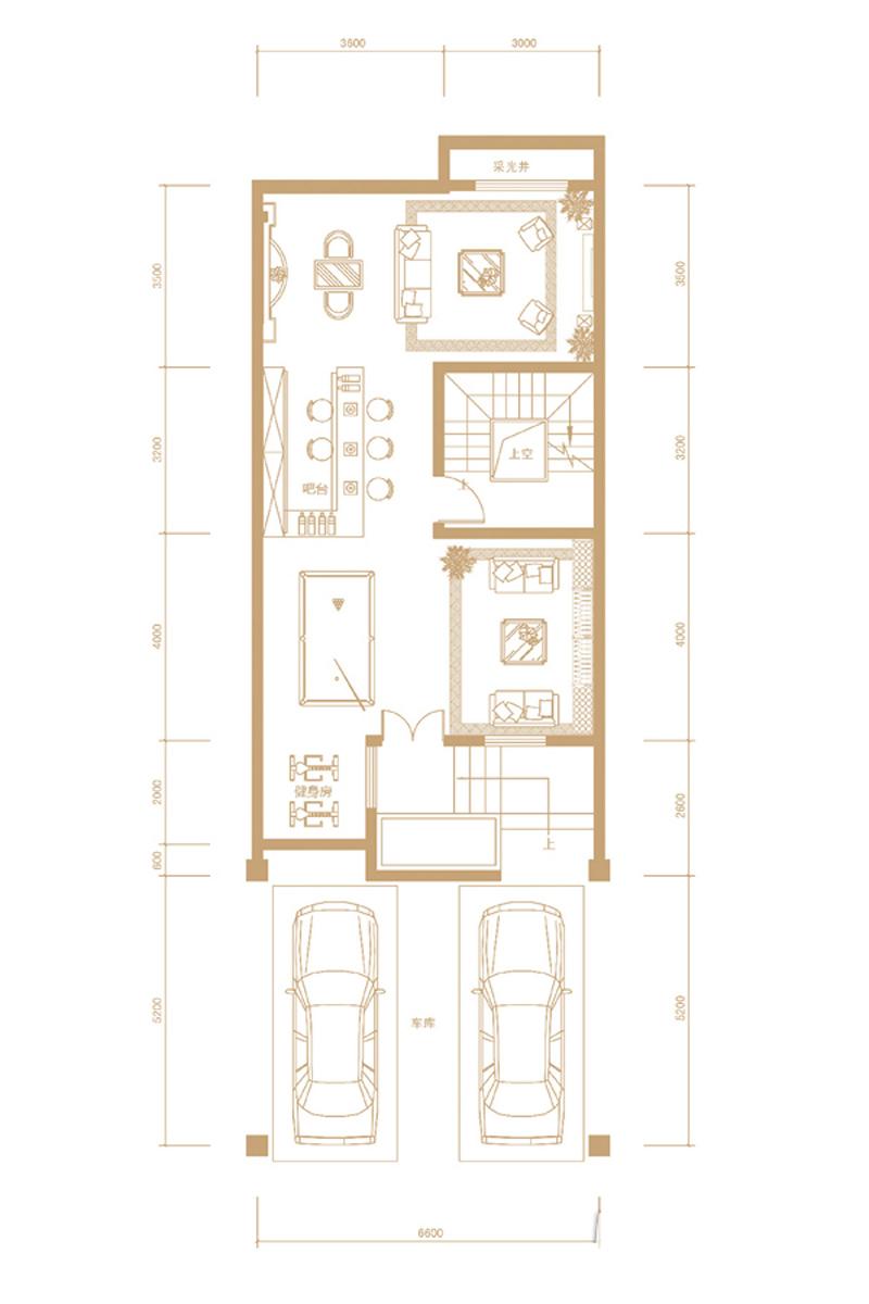 田园 别墅 旧房改造 户型图图片来自北京别墅装修-紫禁尚品在永定河孔雀城剑桥郡田园风格的分享