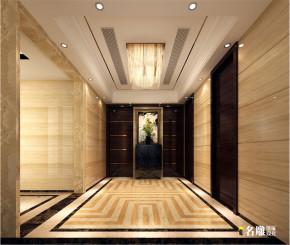三居 新古典 中洲中央 白领 80后 名雕装饰 惠州装修 玄关图片来自名雕装饰设计在中洲中央公园—新古典—五居室的分享