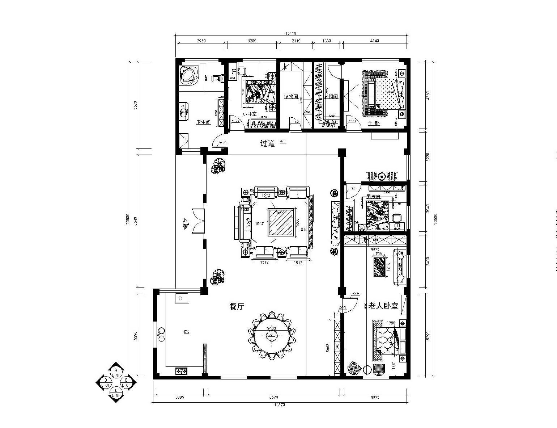 简约 欧式 别墅 户型图图片来自实创装饰上海公司在独栋别墅欧式风格装修设计的分享