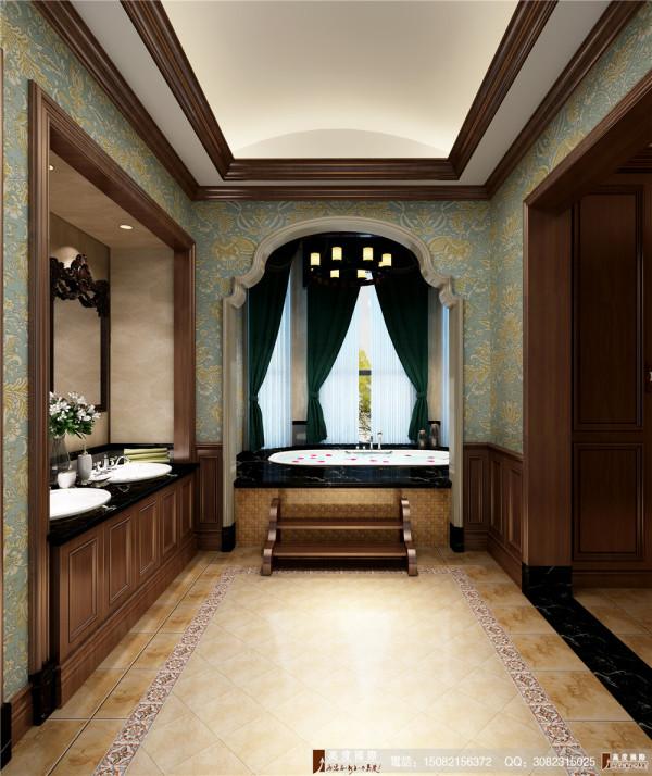 悠山郡卫生间细节效果图---成都高度国际装饰设计