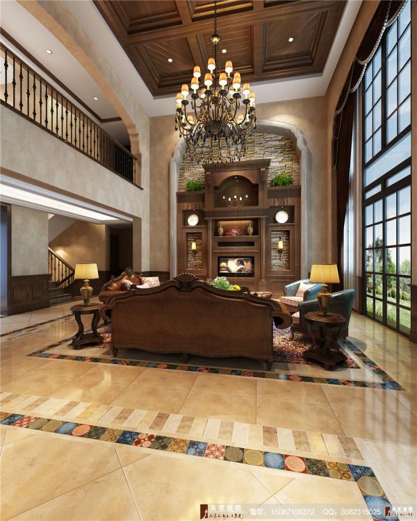 悠山郡客厅细节效果图---成都高度国际装饰设计