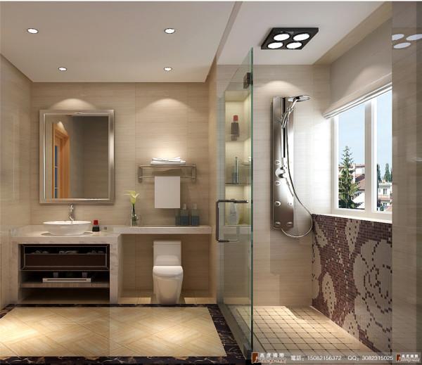 九龙仓御园装修卫生间细节效果图图----高度国际装饰