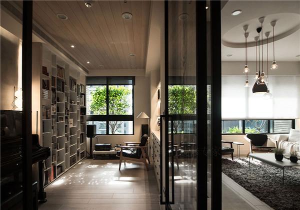 简约 80后 欧式 书房图片来自日升装饰公司在不矫情!原装北欧的清新风貌的分享
