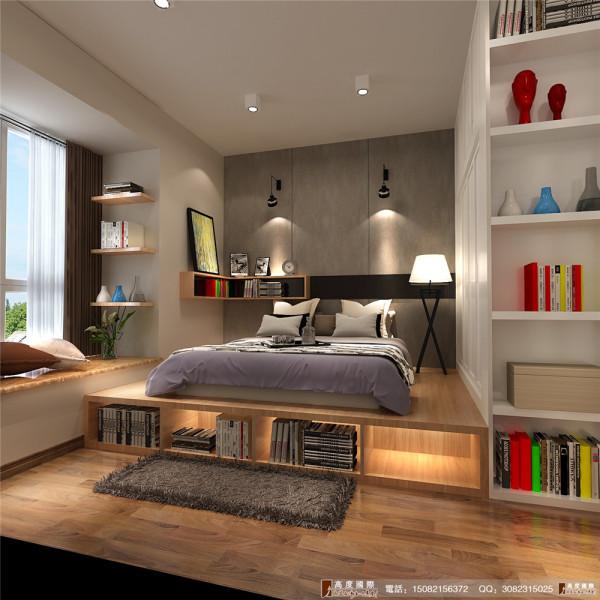 九龙仓御园装修卧室细节效果图图----高度国际装饰