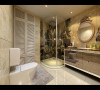 誉品谷水湾三居室简欧风格设计