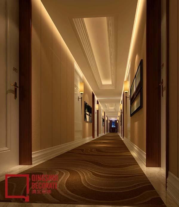 酒店走廊设计图片