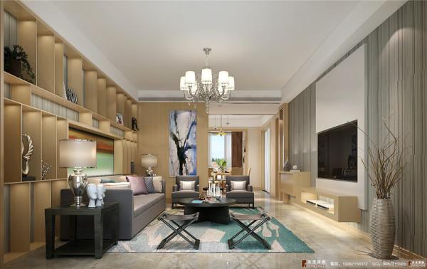 九龙仓御园装修客厅细节效果图图----高度国际装饰
