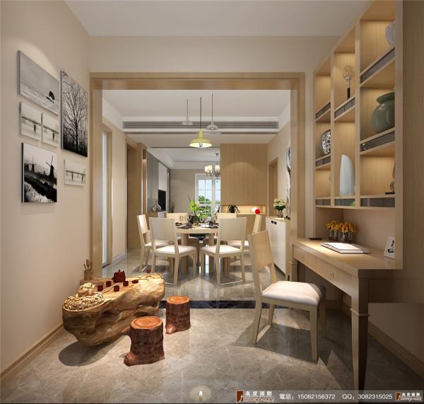 九龙仓御园装修餐厅细节效果图图----高度国际装饰