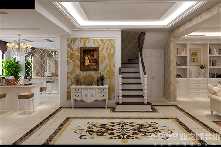 欧式 兰州装修 业之峰装饰 效果图 红星紫郡 楼梯图片来自兰州业之峰装饰公司在我的Loft的分享