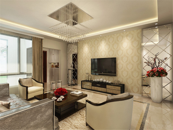 本次案例的设计风格是简欧风格。简欧风格简化了传统欧式风格过于繁琐的装饰元素,使其有欧式风格的大气。
