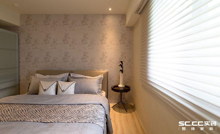 二居 现代 简约 客厅 卧室 厨房 餐厅 旧房 精装 卧室图片来自实创装饰晶晶在张杨路78平旧房改造简约而不简单的分享