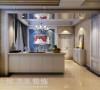 贰号城邦110平三室两厅法式风格装修案例-厨房效果图
