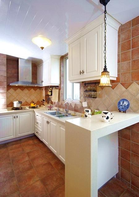 田园 尖叫688 实创装饰 装修公司 厨房图片来自实创装饰小何在雅居乐铂琅峯126平米田园风格的分享