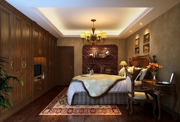 欧式 卧室图片来自四川新空间装饰在南湖国际大气欧式风格的分享