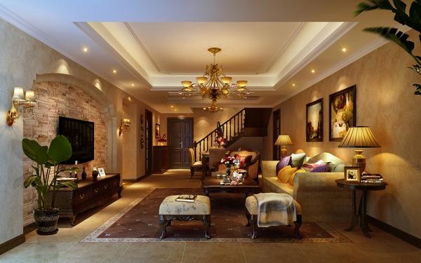 欧式 客厅图片来自四川新空间装饰在南湖国际大气欧式风格的分享