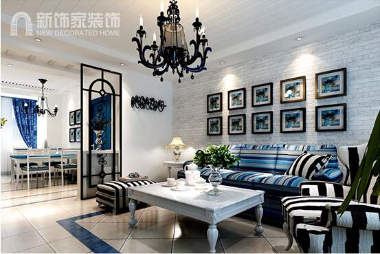 简约 三居 现代 客厅图片来自沈阳新饰家装饰在宝地铭门128平米都市极致生活的分享