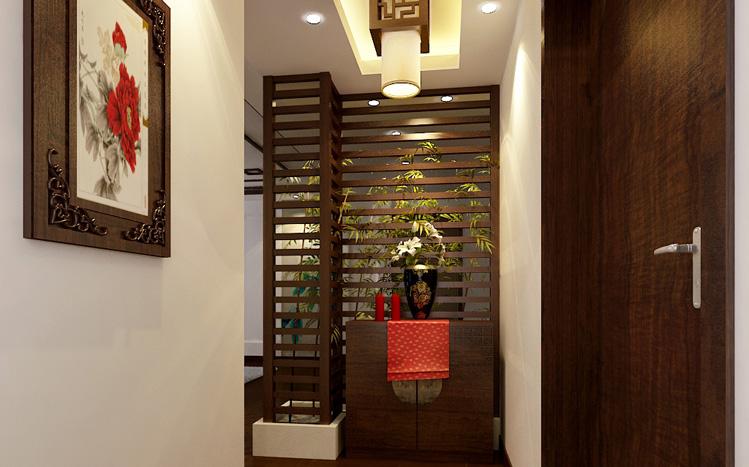 实创陈浩 中式 玄关图片来自南京实创装饰陈浩在古色古香 中式韵味的分享
