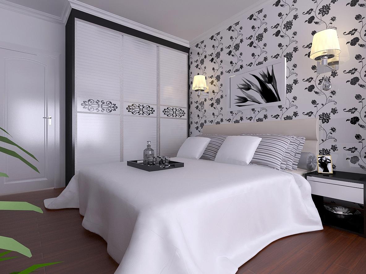 汇一城 简约 现代 浅色系 卧室图片来自自然元素装饰在汇一城现代简约装修案例的分享