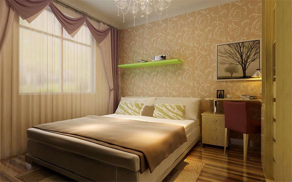 简约 二居 白领 收纳 80后 小资 卧室图片来自实创装饰完美家装在纳丹堡76平简约时尚方案赏析的分享