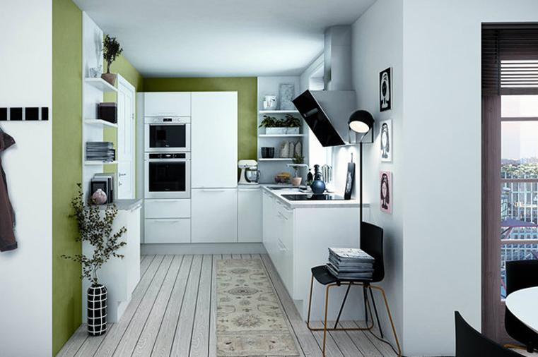 汇一城 简约 现代 浅色系 厨房图片来自自然元素装饰在汇一城现代简约装修案例的分享
