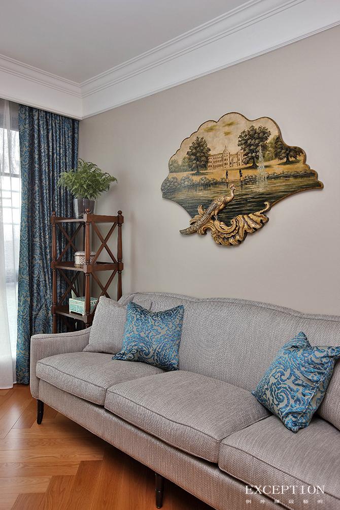 软装设计 例外设计 例外软装 家居设计 别墅设计 豪宅设计 室内设计 法式设计 卧室设计 书房图片来自例外软装设计在芳菲妙影--波托菲诺纯水岸的分享