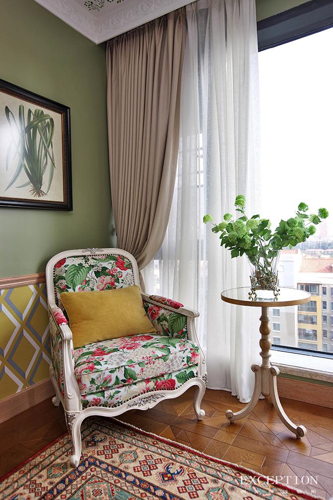 软装设计 例外设计 例外软装 家居设计 别墅设计 豪宅设计 室内设计 法式设计 卧室设计 卧室图片来自例外软装设计在芳菲妙影--波托菲诺纯水岸的分享