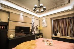 石凌松 现代 中式 空灵 简朴 唯美 舒适 三居 禅意 卧室图片来自美颂雅庭装饰在越秀.星汇云锦现代中式演绎的分享