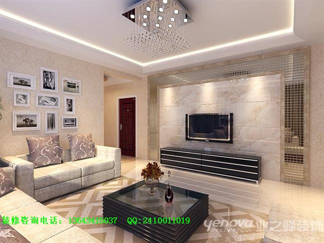 现代 三居 太原业之峰 客厅图片来自太原业之峰诺华装饰杨丽茹在清枫华景的分享