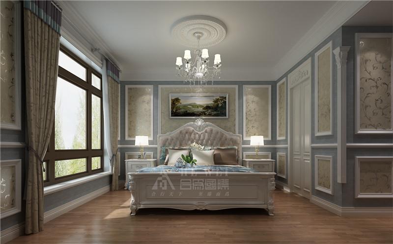欧式 欧洲宫廷家 线条美感 卧室图片来自北京精诚兴业装饰公司在富力湾2的分享