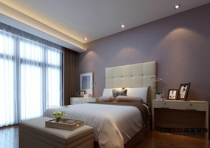 现代 二居 收纳 80后 小资 卧室图片来自百家装饰杨乐乐在万科香湖盛景 89平现代简约的分享