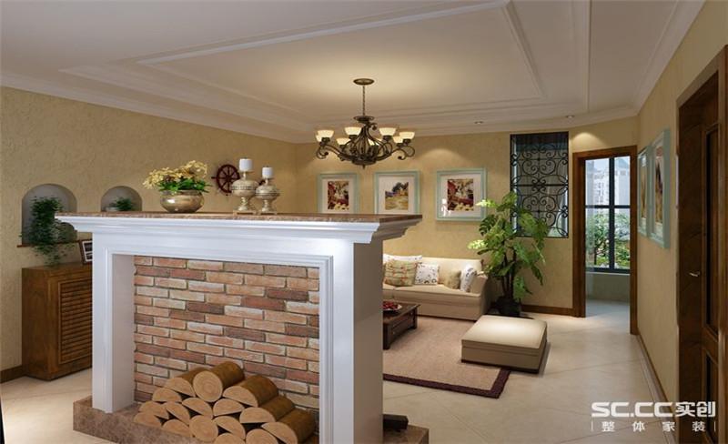 东岸尚景 地中海 两居 家装 整体 客厅图片来自郑州实创装饰啊静在东岸尚景89平地中海两居的分享