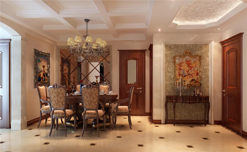 三居 白领 收纳 小资 旧房改造 80后 餐厅图片来自实创装饰完美家装在高教新城125平中式古典风格案例的分享