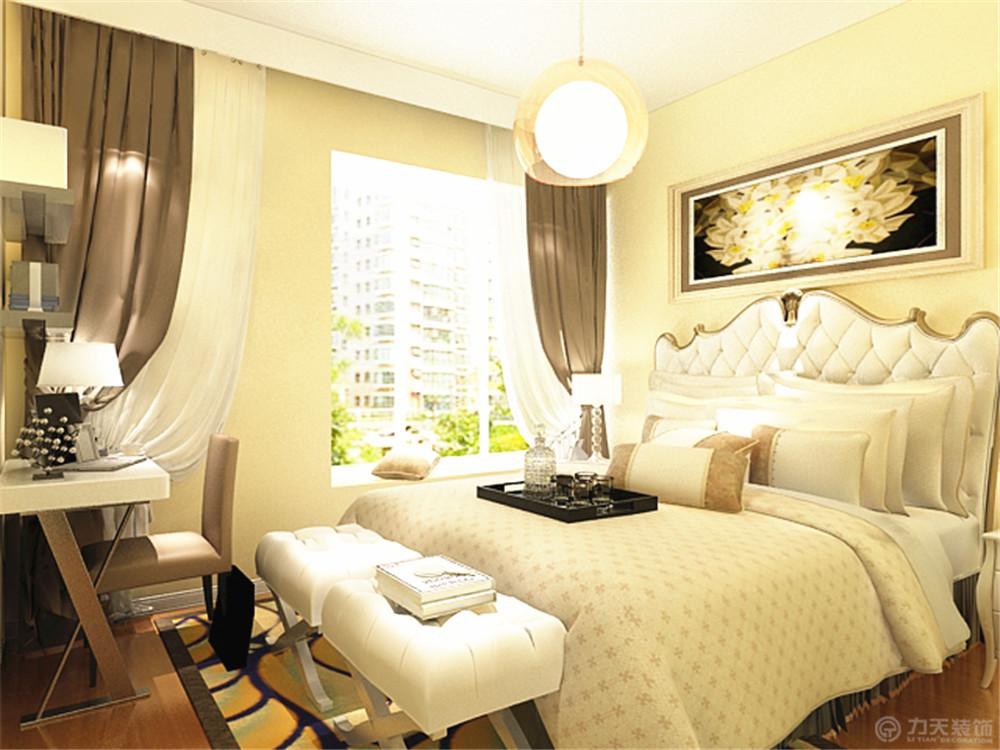 简约 二居 白领 收纳 80后 小资 卧室图片来自阳光力天装饰在力天装饰-南益名仕华庭88㎡的分享