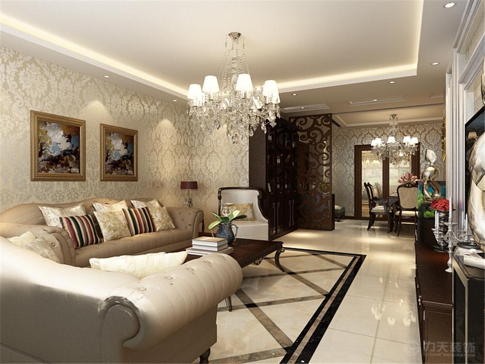 现代欧式 三居 白领 收纳 80后 小资 客厅图片来自阳光放扉er在金隅悦城-144㎡-现代欧式风格的分享