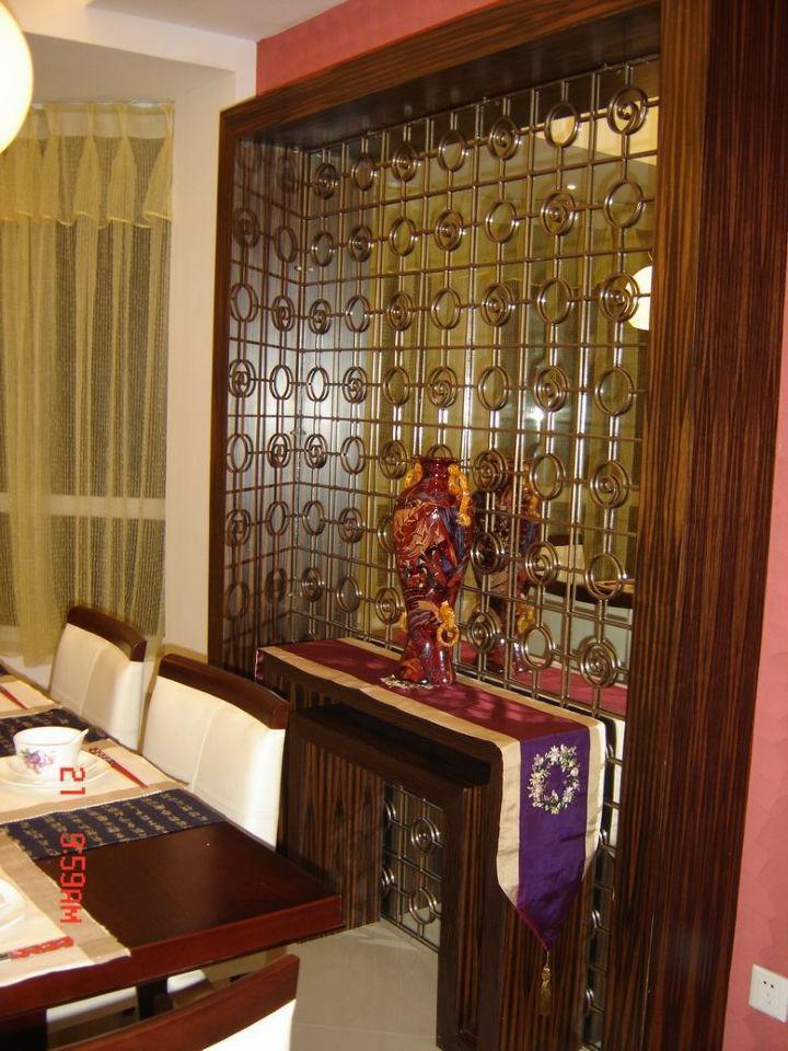 餐厅图片来自cdxblzs在恒大雅苑 120平米 现代中式 三室的分享
