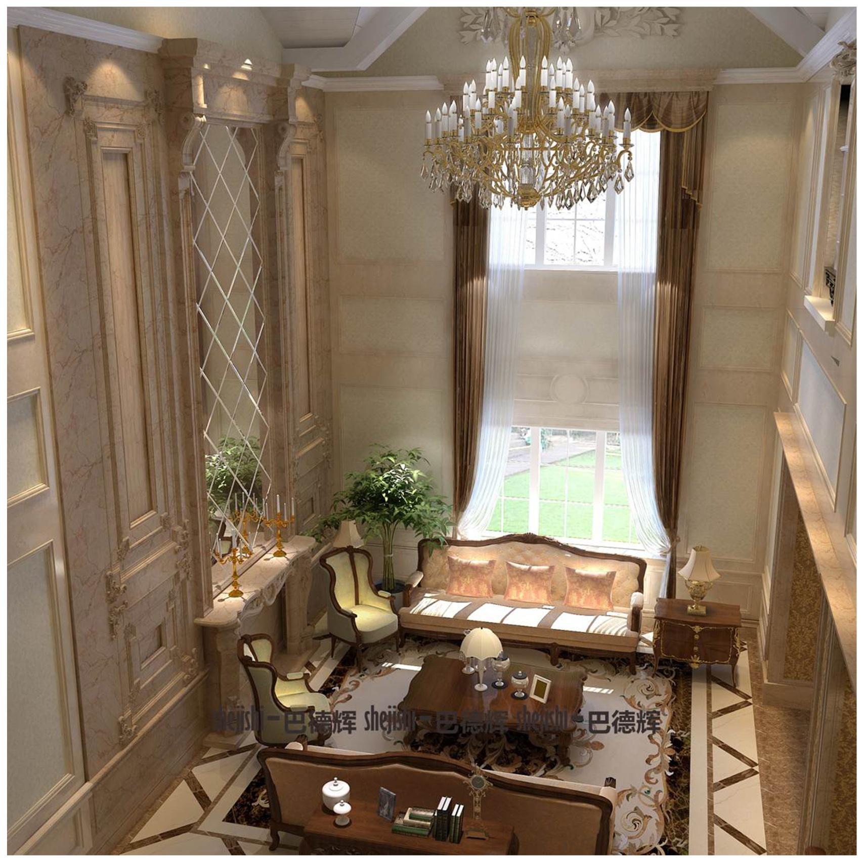 尊重自然 复兴古代 典雅美丽 客厅图片来自北京精诚兴业装饰公司在宣化样板的分享