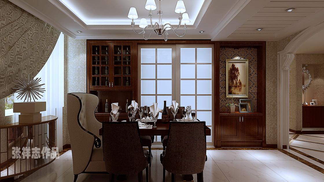 银川美居 150平装修 北欧设计 青岛装修 实创装饰 餐厅图片来自实创装饰集团青岛公司在市北区银川美居150平北欧设计的分享