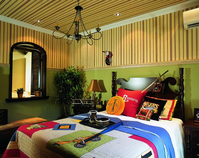 田园 别墅 厨房图片来自紫禁尚品设计师李擎在长海御墅美式乡村风格的分享