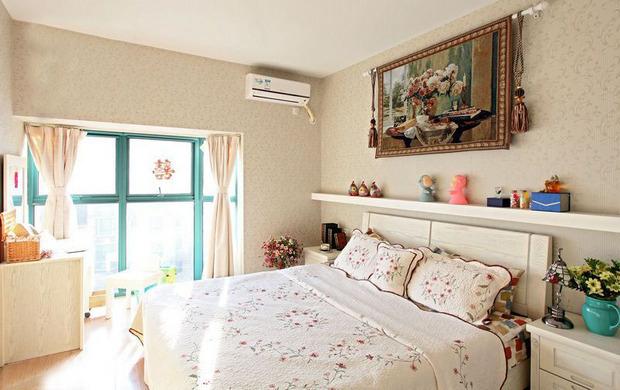 三居 田园 卧室图片来自四川岚庭装饰工程有限公司在10万打造110平田园风格三居室的分享