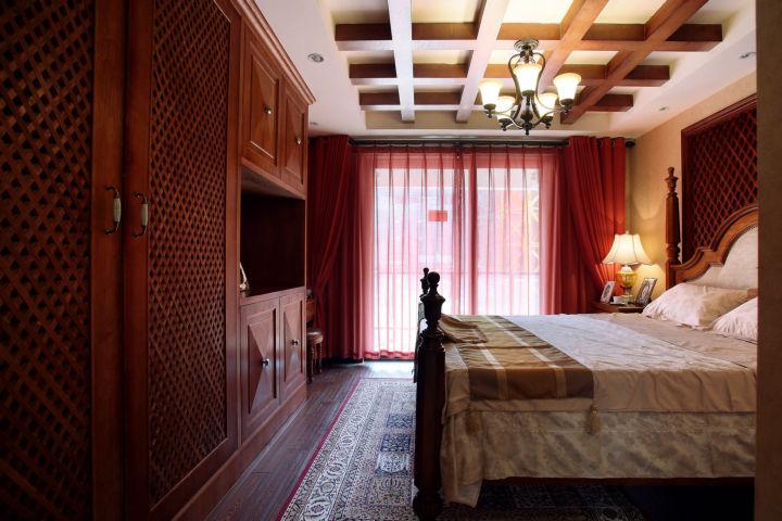 西花汀 158平米 美式乡村 四室 卧室图片来自cdxblzs在西花汀 158平米 美式乡村 四室的分享