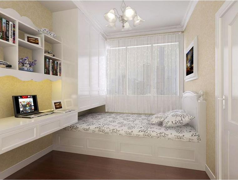 二居 美式 浪漫 儿童房图片来自自然元素装饰在碧海名园美式风格装修案例的分享