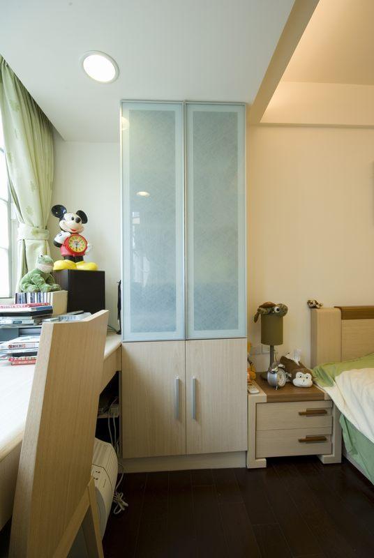 三居 简约 儿童房图片来自四川岚庭装饰工程有限公司在115平米堆迭有层次的三居空间的分享