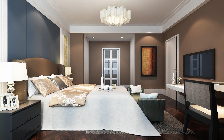 简约 现代 白领 小资 80后 卧室图片来自西安业之峰装饰在【绿地生态城】——现代简约的分享