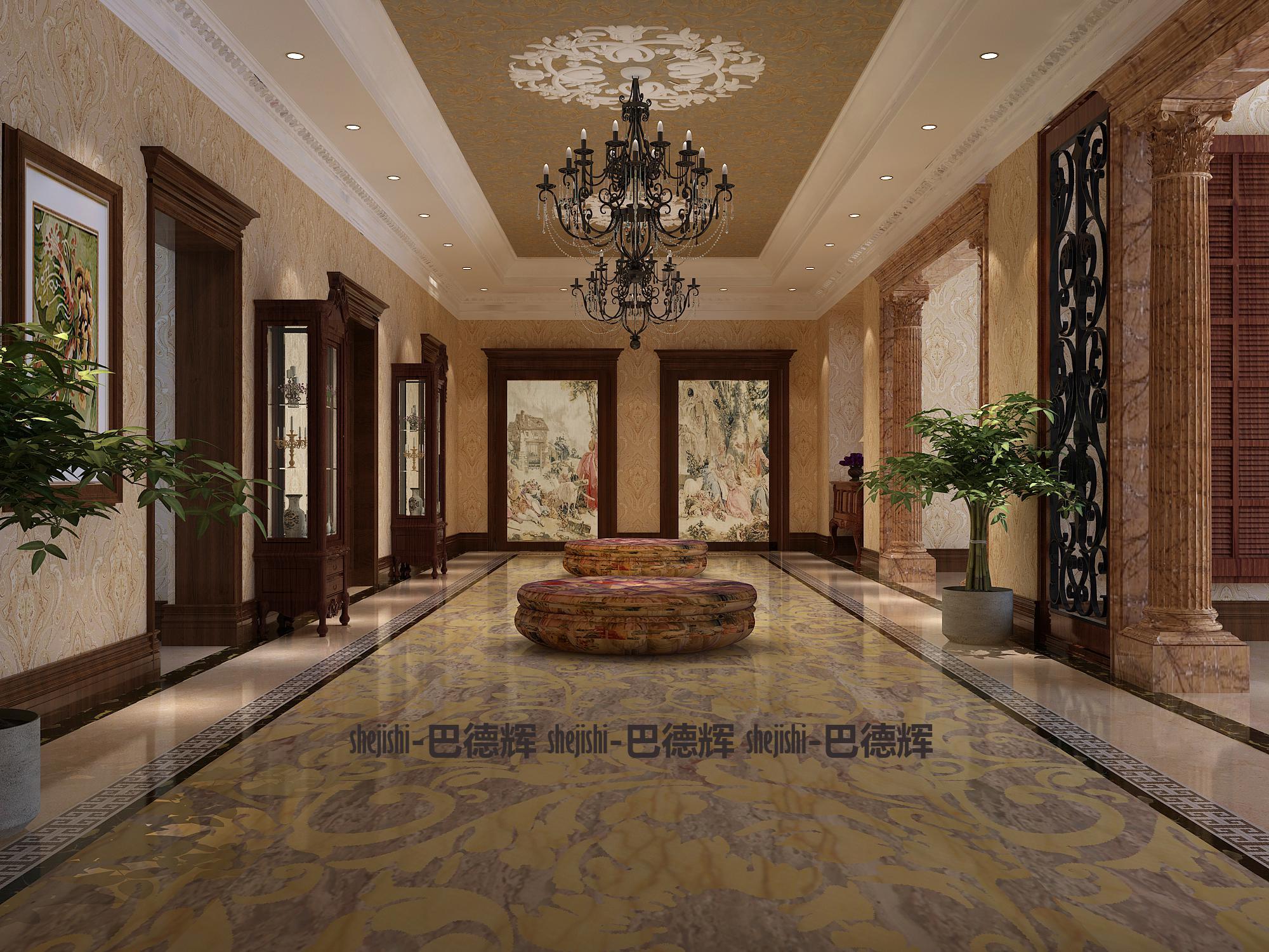 古典 别墅 典雅、端庄 时代特征 其他图片来自北京精诚兴业装饰公司在桃花源2的分享