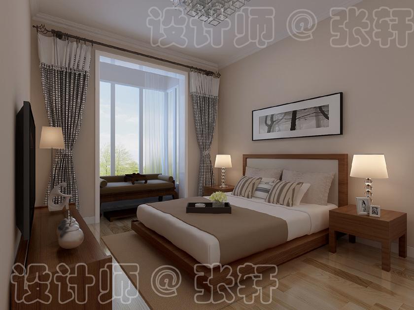 欧式 卧室图片来自阿布的小茅屋15034052435在时尚北欧--北联干休所95平米的分享